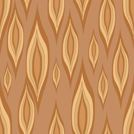 Gestileerde houtstructuur. Naadloos patroon met bruin elementen