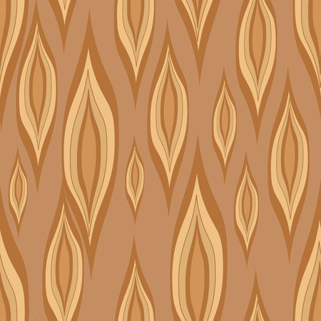 Stylized wood texture. Seamless pattern with brown elements Imagens - 36890535