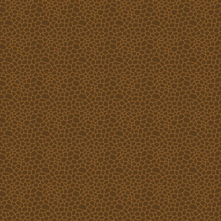 leather texture: Brown seamless vector leather texture background pattern Illustration