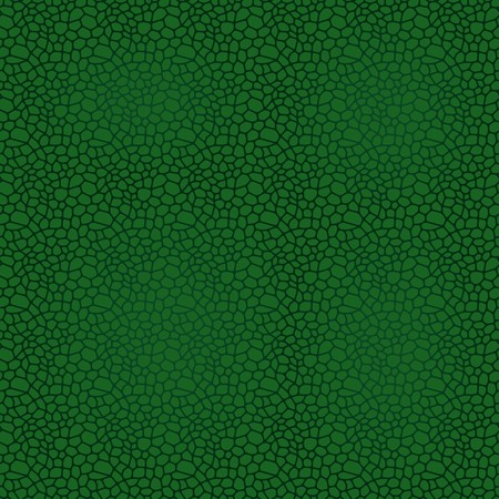 reptile skin: Green seamless vector leather texture background pattern Illustration