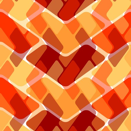 Seamless texture pattern with hot color tiles Vector