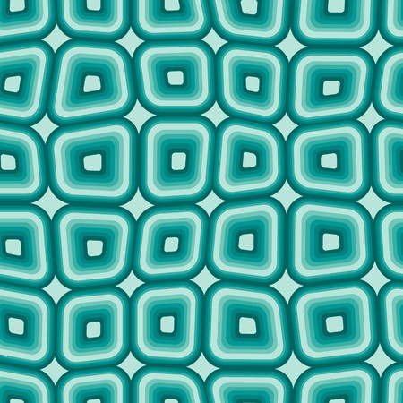 roughness: Seamless texture pattern with blue rounded tiles