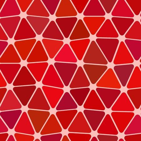 Seamless vector texture with red garnet tiles Vector