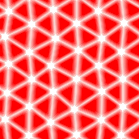 Seamless vector texture with red tiles on white Vector