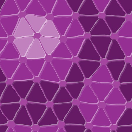repeated: Seamless vector texture with violet triangle tiles