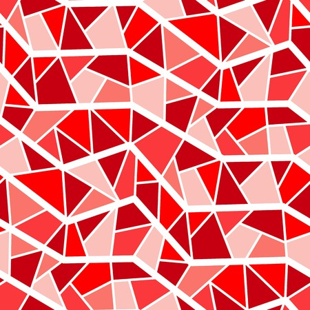 Seamless vector texture with red garnet tiles Vector
