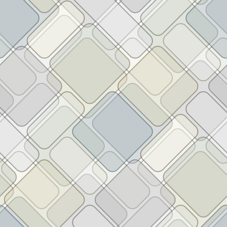 Seamless texture with light brown green tiles Vector