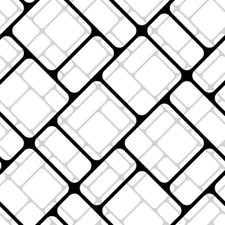 Modern stylish pattern of mesh. Repeating abstract background Vector