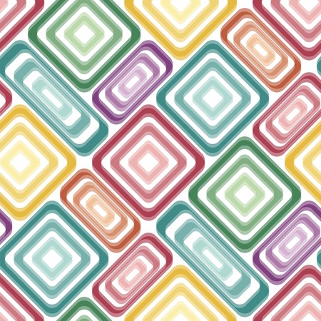 tile pattern: Seamless vivid tile pattern with multicolor elements Illustration
