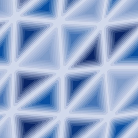 nebulosity: Seamless vector texture with blue triangle tiles