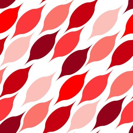 Seamless vector pattern with hot color UFO on white Vector