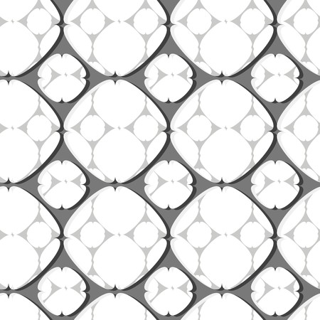 nifty: Modern stylish pattern of circle mesh. Repeating abstract background Illustration
