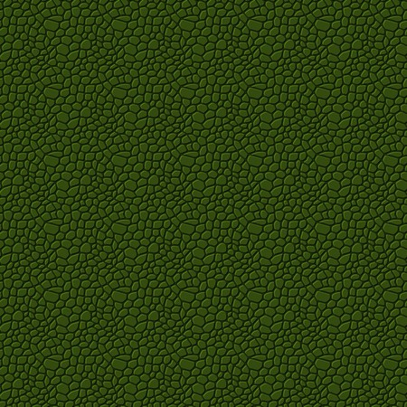leather background: Green seamless vector leather texture background pattern Illustration