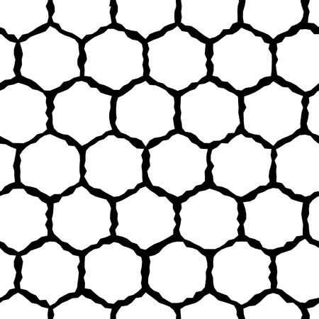 nifty: Modern stylish pattern of hexagon mesh. Repeating abstract background