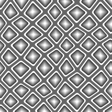 tiles texture: Seamless texture pattern with black rounded tiles