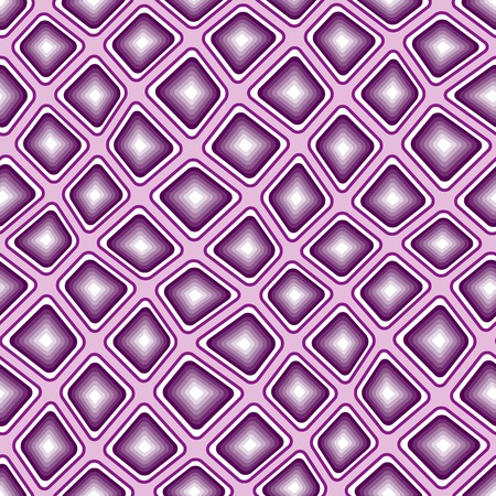 tiles texture: Seamless texture pattern with violet rounded tiles Illustration