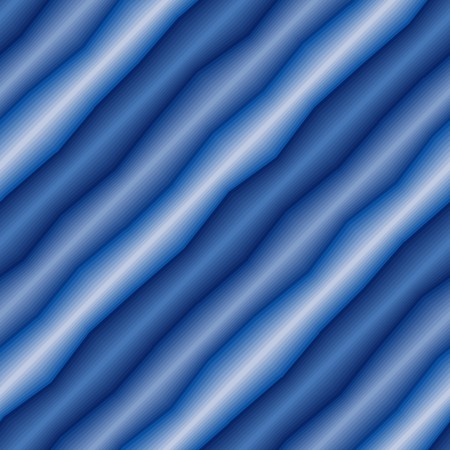 conformation: Seamless abstract texture with blue 3d tubes