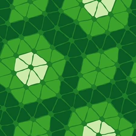 tiles texture: Seamless texture with green triangle tiles
