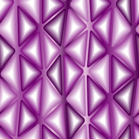 tiles texture: Seamless texture with 3d violet triangle tiles