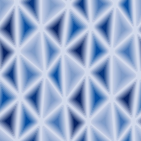 nebulosity: Seamless texture with blue triangle tiles