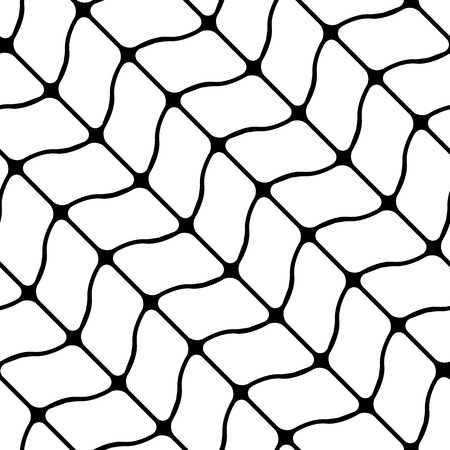 black fabric: Modern stylish pattern of mesh. Repeating abstract background
