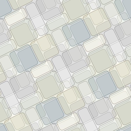 Seamless texture with light brown green tiles.