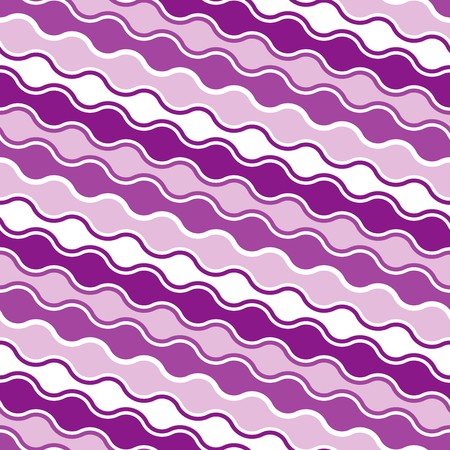 Wave background. Seamless pattern with violet elements