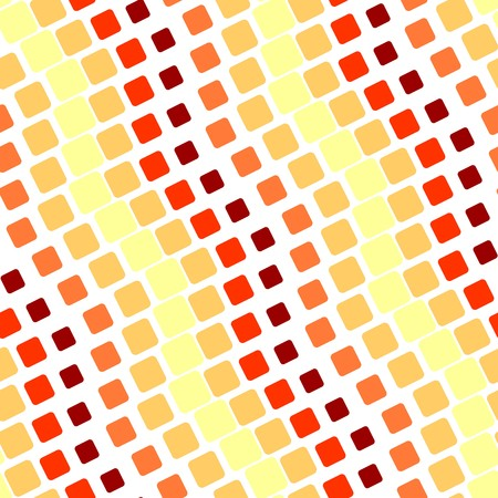 Seamless texture with hot rounded tiles on white