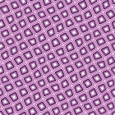 Seamless texture pattern with violet rounded tiles Illustration