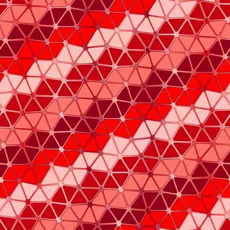Seamless vector texture with red garnet tiles Illustration