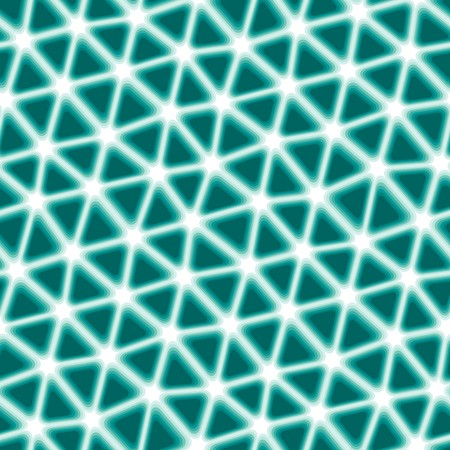 Seamless vector texture with green tiles on white
