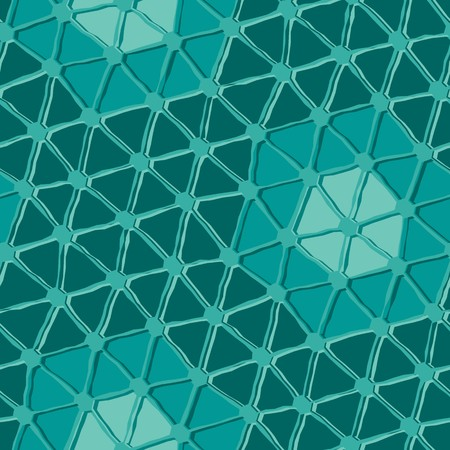 Seamless vector texture with triangle tiles Illustration