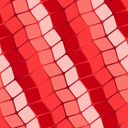 Red geometric pattern.