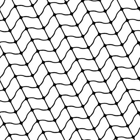 Modern stylish pattern of mesh. Repeating abstract background
