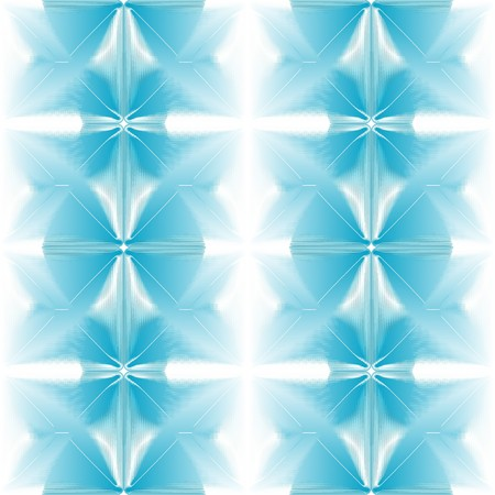 Seamless halftone blue abstract background