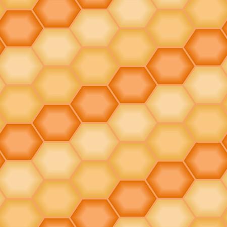 Orange tiles. Seamless vector pattern Векторная Иллюстрация