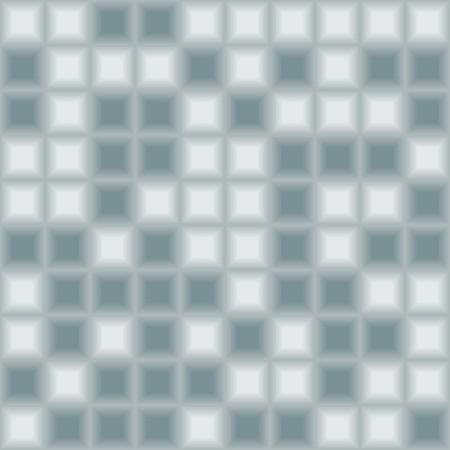 Blue tiles - seamless vector pattern Векторная Иллюстрация