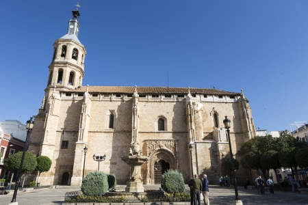 Church of Our Lady of the Assumption in Valdepeñas, Spain Stock Photo - 16870553