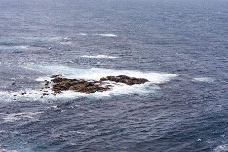 northern spain: cliffs in northern Spain in the Atlantic