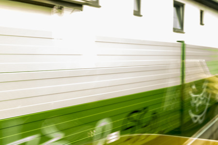 Background Motion Blur in greencolor