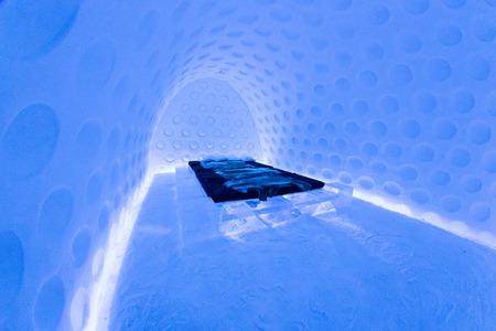 kiruna: Icehotel in jukkasjarviç. Kiruna. Lapland.Sweden
