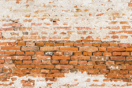 red brick exterior wall background