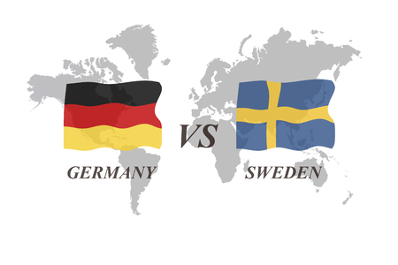 A Football Tournament Russia 2018. Group F. Germany vs Sweden