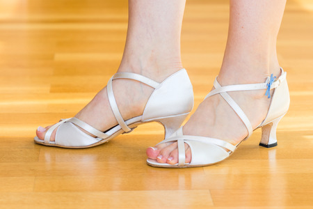 White wedding shoes for women