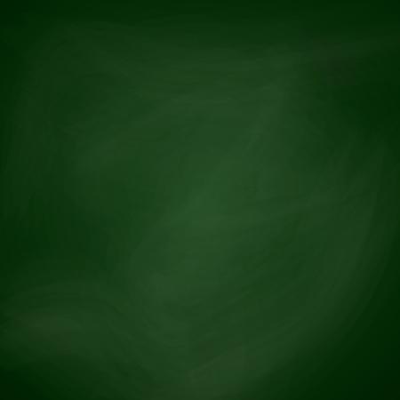 empty blackboard dark green color chalkboard template school