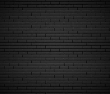 Empty Brick Wall Surface. Old Grey Brick Wall Background. Urban Wall Texture. Vector Illustration