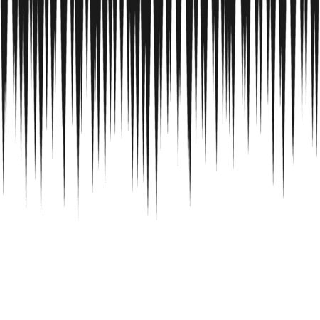 Comic speed lines background. Manga speed frame. Cartoon motion background. Vector illustration isolated on white background Illustration