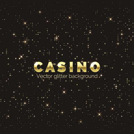 Casino diamond background. Fortune and luck banner design element. Vector illustration Illustration