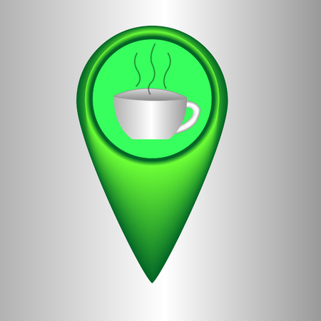 coffeehouse: Map pointer coffeehouse
