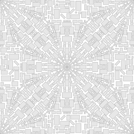 view wallpaper: Vector seamless city pattern. Top view city map. Roads, navigation, GPS. Use for pattern fills, surface textures web page background, wallpaper.